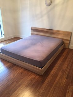Simple Modern Platform Bed By BaxterGroup On Etsy Modern Platform Bed, Platform  Beds, Wood
