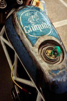 Ducati custom gas tank