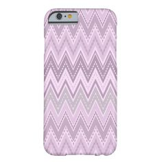 Lilac pink  zigzag barely there iPhone 6 case Custom Brandable Electronics Gifts for your buniness #electronics #logo #brand
