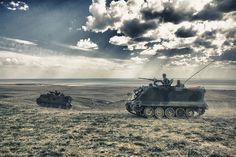 Turkish Army M113A2 April 9th 2012.