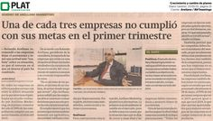 Arellano Marketing / B&Tmeetings: Crecimiento y cambio de planes en el diario Gestión de Perú (15/05/15)