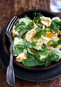 Yummy Supper: OTTOLENGHI SAFFRON CHICKEN SALAD {+ A BOOK UPDATE}