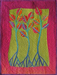 Dancing Trees by designer Frieda Anderson. - via @Craftsy
