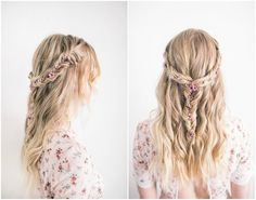 ▷ 1001 + tutorials and ideas how to make a successful braid on the cob - Elegant Hairstyles, Loose Hairstyles, Braided Hairstyles, Wedding Hairstyles, Hairstyle Braid, Loose Braids, Small Braids, Hair A, Her Hair