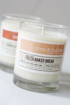 Candles that remind you of a past home. (Pictured: $18.50 Coco and Bubbles Fresh Baked Bread Natural Soy Candle)