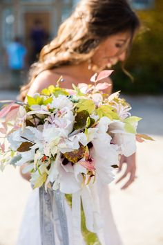 #bouquet  Photography: Roey Yohai Photography - roeyyohaiphotography.com  Read More: http://www.stylemepretty.com/massachusetts-weddings/new-marlborough/2013/12/31/elegant-berkshires-wedding-at-gedney-farm/