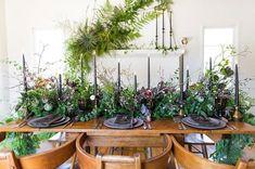 Romantic foraged foliage wedding ideas   100 Layer Cake   Bloglovin'