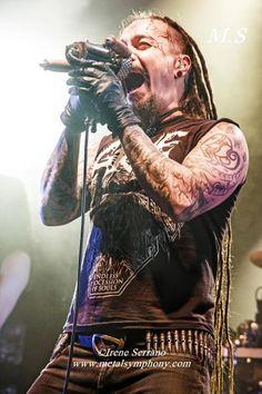 Amorphis + Starkill 12 de Noviembre13 Sala Apolo (Barcelona)