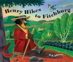 Henry Hikes to Fitchburg by D.B. Johnson, http://www.amazon.com/dp/0618737499/ref=cm_sw_r_pi_dp_8vlisb08N7A7D