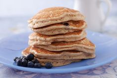 Fruit Pancakes: Shake up your breakfast with these fruity pancakes!   (Vegan)