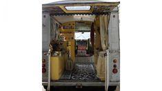 Camper Van Interior Citroen H patchwork harmony . Campervan Interior, Camper Conversion, Mobile Home, Interior Inspiration, Interior Ideas, Camper Van, Awesome, Design, Campers