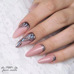 Nail Arts Fashion Designs Colors and Style Fabulous Nails, Perfect Nails, Gorgeous Nails, Cute Nails, Pretty Nails, Hair And Nails, My Nails, Almond Acrylic Nails, Latest Nail Art