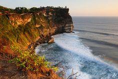 Bali Ulu Watu - avoid Kuta, Legian, head away from the touristy areas for some great scenery and waves.