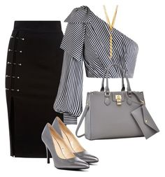 Untitled #82 by didi-koleva on Polyvore featuring polyvore fashion style Zimmermann Nine West Dasein BERRICLE clothing