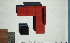 furniture top view - Google Search Photoshop, Top View, Interior Design, Architecture, Furniture, Layouts, Google Search, Chair, Nest Design