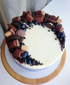 All Time Easy Cake : I have customers, over and over again ., All Time Easy Cake : I have customers, over and over again . Pretty Cakes, Cute Cakes, Yummy Cakes, Food Cakes, Cupcake Cakes, Cake Recipes, Dessert Recipes, Chocolate Sweets, Chocolate Cupcakes