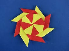 How to make a transforming ninja star (8-pointed) (link)