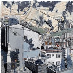 The wonderful use of denim in these urban landscapes by Korean artist Choi So Young caught Patternbank's eye this week. The way that Choi So Young puts to