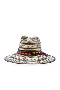 GABRIELLE'S AMAZING FANTASY CLOSET | SENSI STUDIO Colombia Panama Hat in Natural & Black