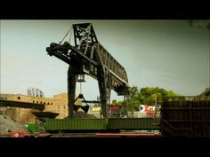 N scale bridge crane appears on Rick Spano's Sceniced and Undecided model railroad: http://scenicedandundecided.net/