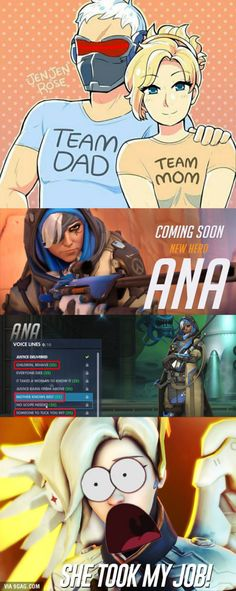 Overwatch Family. Someone's a Homewrecker.