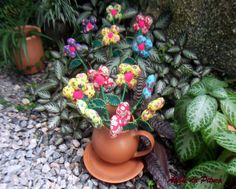 Jarro de flores, porque amo coloridisces