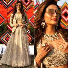 Karishma Tanna Net Embroidery Party Lehenga Blouse With Jacket Source by patelswati Blouses Lehnga Dress, Lehenga Blouse, Lehenga Choli, Jacket Lehenga, Sarees, Bridal Lehenga, Sarara Dress, Anarkali Gown, Anarkali Suits