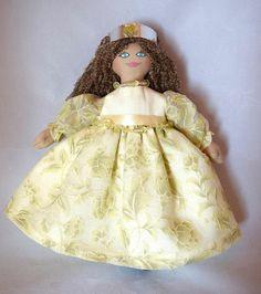 Princess Doll In Fancy Dress - Unique Doll - Toy Doll - Art Doll