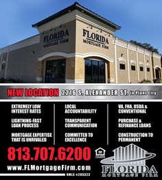 Check out Florida Mortgage Firm's new facility!