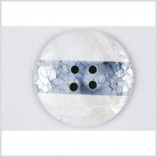 94L/60mm Black/Pearl/Gray Natural Shell Button