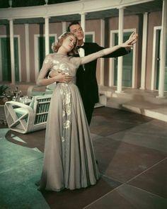 Grace Kelly and Frank Sinatra- High Society