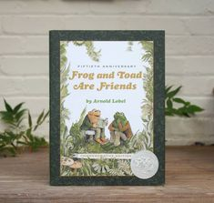 """This lovely volume also includes seven pages of rarely seen bonus material, including archival photographs, sketches, pages from the original book dummy, the manuscript of the first story """"Spring"""" (written in Lobel's cursive on lined notebook paper!), plus a biography of Arnold Lobel and how he was inspired to write the Frog and Toad stories. 📸 @thecuriousreader"""