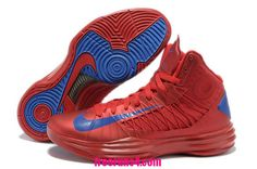 bdcaf9bc767f7d Buy New Men s Nike Lunar Hyperdunk 2013 University Red Game Royal Basketball  Shoes Shop