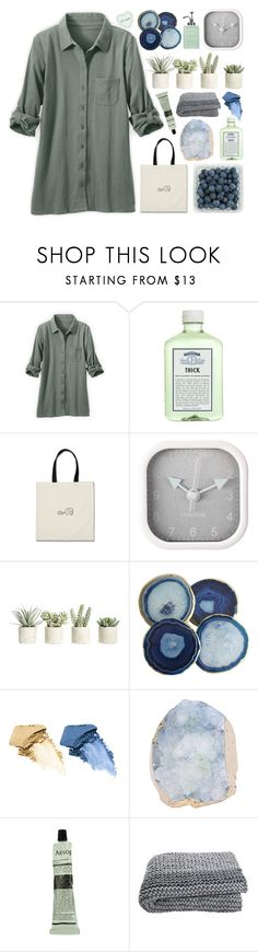 """drowning at separate ends of an ocean"" by scallydragon ❤ liked on Polyvore featuring John Allan's, Karlsson, Allstate Floral, Bare Escentuals, Aesop, botcscool and botcs2"