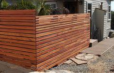 Best Wood for a Horizontal Fence - AdvantageLumber Blog House Fence Design, Fence Gate Design, Privacy Fence Designs, Driveway Design, Privacy Screens, Small Patio Design, Backyard Garden Design, Backyard Fences, Backyard Landscaping