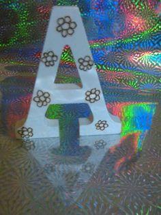 Lettere pirografate