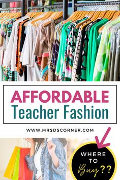Teacher fashion on a budget. Affordable, comfortable teacher fashion and where to buy it. We need to be professionally dressed and presentable at all times... and teachers are constantly on the go and moving. Blog post at Mrs. D's Corner. Stylish Eve Outfits, Business Casual Outfits, Professional Outfits, Teaching Schools, Teaching Tips, Teacher Dresses, Teacher Clothes, Fall Fashion Trends, Fashion Ideas