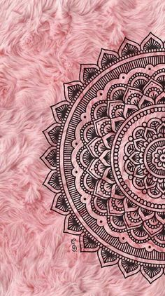 Super Ideas For Mandala Art Wallpaper Iphone Pink Wallpaper Backgrounds, Wallpaper Wall, Crazy Wallpaper, Pink Wallpaper Iphone, Pink Iphone, Trendy Wallpaper, Mandala Wallpapers, Iphone Backgrounds, Black Wallpaper