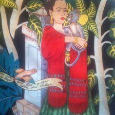 #Frida #fridakahlo #fabric #tela @la_retalera #alpargata #espadrilles