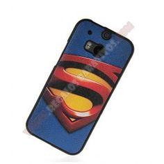 Carcasa divertida TPU Superheroes para HTC One M8 - Proporciona una protección extra y da un toque de simpatia a su movil con esta Carcasa divertida TPU Superheroes para HTC One M8