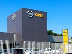 insegne luminose Trezzano Sul Naviglio, insegne luminose Milano e Provincia, insegne luminose concessionarie Auto - General Motors OPEL