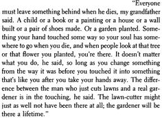 This excerpt is one of the 2 out of the book that have made the deepest impressions on me since I read it in 8th grade #ThankyouBradbury