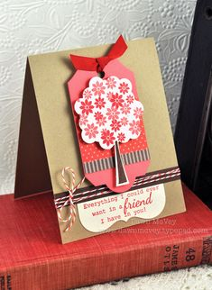 A Friend In You Card by Dawn McVey for Papertrey Ink (July 2012)