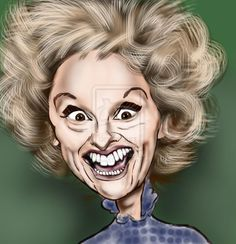 Phyllis Diller by on DeviantArt Funny Caricatures, Celebrity Caricatures, Cartoon Faces, Funny Faces, Cartoon Art, Phyllis Diller, I Dream Of Jeannie, Celebrity Drawings, Wow Art