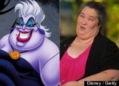 Celebrities Who Look Like Disney Characters...BAHAHAH!!!