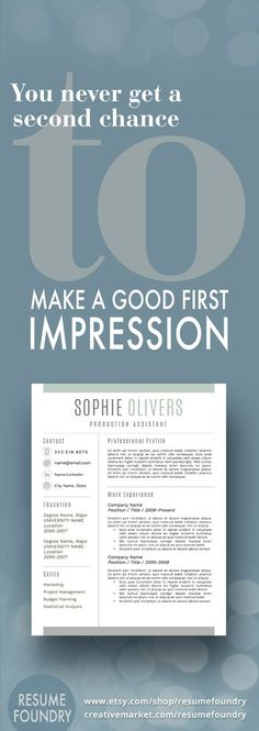 This resume template will stand-out from the sea of applicants - how to make resume stand out