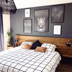 Here are 8 ways to maximize the space in a small bedroom. Home Decor Bedroom, Modern Bedroom, Bedroom Wall, Bedroom Furniture, Living Room Decor, Bed Room, Bedroom Ideas, Furniture Layout, Contemporary Bedroom