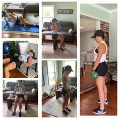 At Home Leg Day Workout - Exercise Ideas - Sexy Bikini Kettlebell Workout Video, Zumba Workout Videos, Barre Workout Video, Hamstring Workout, Leg Workout At Home, Leg Day Workouts, Hitt Workout, Aerobics Workout, Biceps Workout