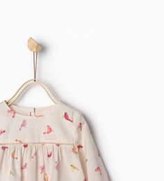 Image 3 of Birds large blouse from Zara