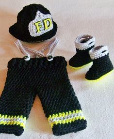 cute Firefighter outfit for a little one